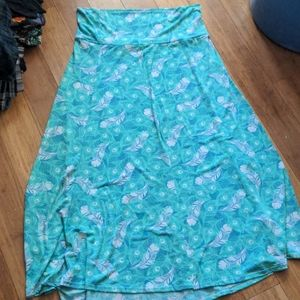 Very stretchy maxi skirt